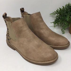 Seven Dials Marisah Ankle Boots Leopard